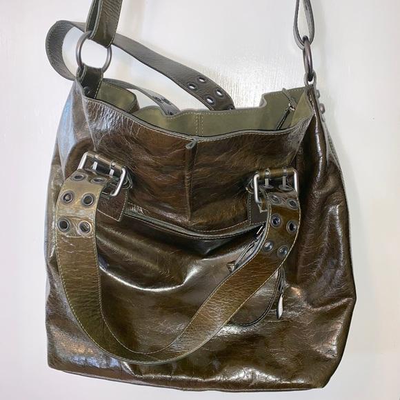 Francesco Biasia Handbags - Francesco Biasia Patent leather tote bog